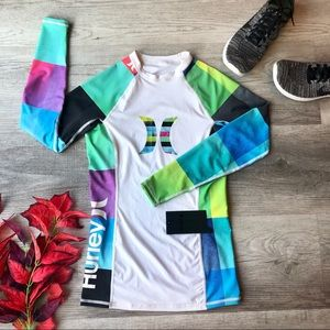 Hurley Women's One & Only Rash Guard Long Sleeve